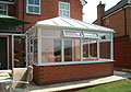conservatory build after 2