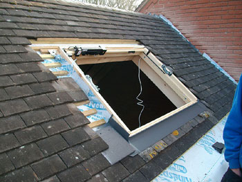 Insersion of Velux window