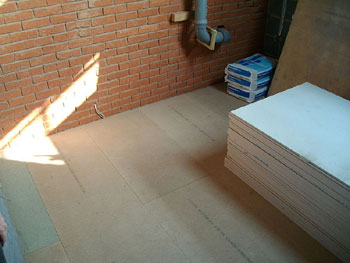Boarding the floor