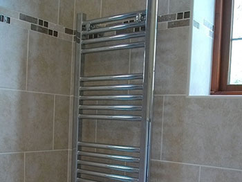 The designer towel warmer/radiator