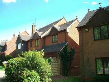 The new extension blends in perfectly with its surroundings