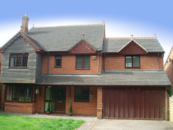 Garage extension over a garage