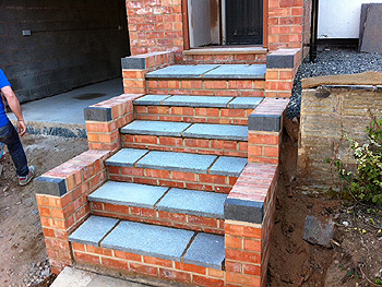 The completed new steps