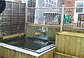 HD Property Services Garden water feature and decking