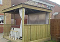 HD Property Services Gazebo construction for hot tub
